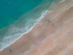 DJI_0218-3 (ashwin647) Tags: india murdeshwar karnataka drone birdseye morning travel indiapictures beach outdoors dronephotography djispark boat fishermen