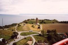 Rügen 1998 - Kap Arkona, Blick  v. Leuchtturm (Knipser@) Tags: ostsee hw rügen leuchttürme