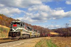 Monongahela Railway 2308 South at Miracle Run, WV (thechief500) Tags: mga railroads monongahela wv westvirginia