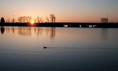 April Sunrise, Monona Bay (humbletree) Tags: morninglight morningwalk madison mononabay sunrise fujixe2 7artisans 25mmf18