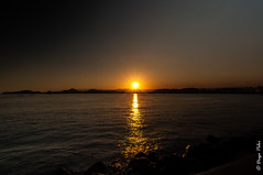 Magic Sunset (Peloi Photography) Tags: sunset magic seascape santos brasil por do sol sea mar