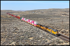 UP 3069 (golden_state_rails) Tags: up union pacific emd overland route thayer wy wyoming sd70ah sd70aht4 one ocean network express