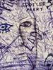 Spoiler Alert (Steve Taylor (Photography)) Tags: spoileralert face eye lashes xx pen ink art drawing sketch graffiti streetart blue mauve white lady woman ymca