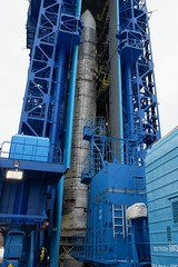 Sentinel-3B rocket in the launch tower (europeanspaceagency) Tags: esa europeanspaceagency space universe cosmos spacescience science spacetechnology tech technology earthfromspace observingtheearth earthobservation satelliteimage copernicus sentinel rocket rockot liftoff launch plesetsk russia