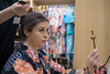 British woman making up in Kimono shop (Apricot Cafe) Tags: img77650 asia caucasianethnicity healthylifestyle japan japaneseculture kimono newyear shibuyaward tamronsp35mmf18divcusdmodelf012 tokyojapan beautifulwoman brownhair candid capitalcities carefree charming colorimage cultures formalwear grace hairaccessory hairstyle happiness indoors lifestyles longhair makeup oneperson people photography sideview sitting smiling tourism tradition traditionalclothing traveldestinations waistup women youngadult