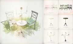[ keke ] tea room set ([ keke ] by Kean Kelly) Tags: sl secondlife keke fameshed originalmesh tea room set