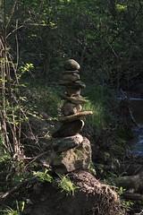 Cairn éphémère (Arnaud Gabriel) Tags: paysa paysage paysagiste ensp marseille provence forcalquier eau forêt landart art landscape