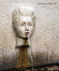 Nîmes, fontaine (louis.labbez) Tags: france labbez water fontaine fountain gard nîmes eau figure face femme woman sculpture art 30