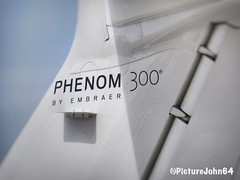 Tail of Phenom 300 by Embraer (PictureJohn64) Tags: picturejohn64 staart sx50 canon flugzeug vliegtuig aircraft tail detail airplane plane embraer phenom mkgts