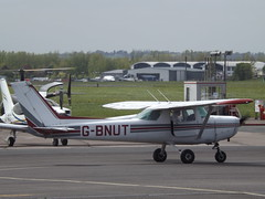 G-BNUT Cessna 152 Staleford Flying Club Ltd (Aircaft @ Gloucestershire Airport By James) Tags: gloucestershire airport gbnut cessna 152 staleford flying club ltd egbj james lloyds
