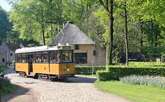 Old Rotterdam Tram 520 at the Netherlands Open Air Museum, Arnhem, 2nd. May 2018. (Crewcastrian) Tags: netherlandsopenairmuseum arnhem rotterdam tram transport preservation 520