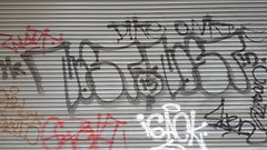 Nost.. (colourourcity) Tags: streetart streetartnow graffiti graffitimelbourne burncity awesome colourourcity nofilters melbourne streetartaustralia tagging tags rollerdoors nost id mr