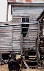 old house back (Strawbryb) Tags: abandonedhouse beautyindecay oldhouse australiancountry abandoned queenslanderhouse