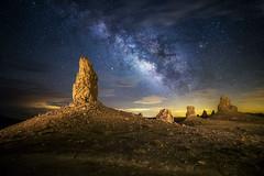 Trona Night Sky (Shabdro Photo) Tags: ©shabdrophoto tronapinnacles milkyway