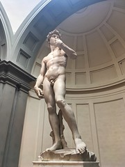Michelangelo's David (brimidooley) Tags: nude accademia david michelangelo art culture history museum gallery sculpture statue florence firenze toscana tuscany italy italia europe europa city citybreak travel sightseeing italie italien