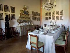 Villa Pisani - 4 (antonella galardi) Tags: veneto padova 2018 stra brenta riviera villa pisani naviglio interno tavola sala pranzo