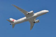 JL0042 LHR-HND (A380spotter) Tags: takeoff departure climb climbout bank banking turn belly boeing 787 8 800 dreamliner™ dreamliner ja837j japanairlinescoltdjal jal jl jl0042 lhrhnd runway09r 09r london heathrow egll lhr