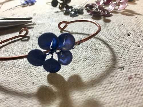 wrap flower wires