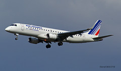 Embraer Emb 190 ~ F-HBLG  Air France (Aero.passion DBC-1) Tags: spotting 2010 airport aeropassion avion aircraft aviation plane dbc1 david biscove cdg roissy airlines airliner embraer emb 190 ~ fhblg air france