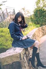 (川力) Tags: lightroom photoshop 台灣 台北 女人 女孩 女子 女子寫真 寫真 外拍 人像外拍 人像寫真 人像攝影 人像 人 taiwan taipei 50mm d750 nikon sea seaside cute sex sexy asian asia photography photo beautiful women lady student girl