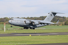 A41-206 Australian AF C-17 Globemaster 111 (Dougie Edmond) Tags: military transport aircraft exercise jw18 jw 18