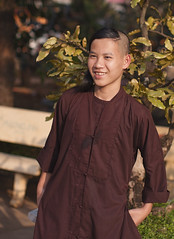 Young Vietnamese Monk 2 (Sharpshooter Alex) Tags: vietnam vietnamese monk young male asia religion buddhist travel