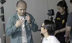 Working with actors #HRDFshoot
