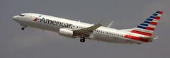Boeing 737-8 N315PE (707-348C) Tags: losangeles thehill klax boeing airliner jetliner boeing737 b738 n315pe americanairlines american passenger usa california ca 2018 aal