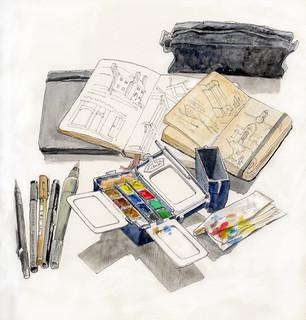 My sketching kit