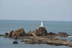 (136/365) Wednesday May 16th (philk_56) Tags: jersey lighthouse sea ocean rocks corbiere stbrelade channel islands