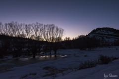 Serrania de Cuenca2018-11 (profesorxproyect) Tags: d7100 nikon tokina tokinaatx1116 nocturna nature naturaleza nightfall nieve snow skyline landscape