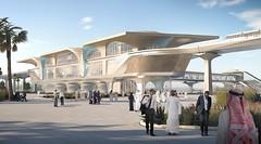 Qatar Doha Metro Elivated Stations (kaldoontruman) Tags: qatar doha metro elivated stations kaldoon truman trumanconsultantscom