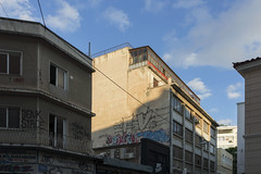 980 € (Ioannis Chrisakis) Tags: chrisakis city clouds colors wall window windows door travelers town sky gray building old house psirri poster athens architectural architect architecture abandonment greece graffiti sketch light