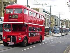 Red Bus Bistro: JJD549D - 11-05-18 (peter_b2008) Tags: redbusbistro edinburgh londontransport aec routemaster rml2549 jjd549d buses coaches transport buspictures