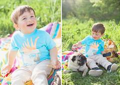 Sasha and Lyalya (Yulchonok) Tags: child portrait 50mm happiness dog spring people