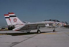 F-14A Tomcat 159616 of VF-124 NJ-76 (JimLeslie33) Tags: 159616 f14 f14a vf vf124 nas miramar fightertown naval aviation usn navy fighter gunfighter gunfighters awg9 tomcat grumman nj nj76 olympus om1 bicentennial