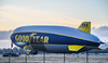 sunset touchdown (pbo31) Tags: livermore california nikon d810 color eastbay alamedacounty airport aviation may 2018 boury pbo31 goodyear blimp airship n2a wingfoot2 sunset blue