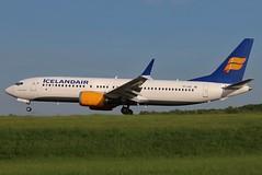 TF-ICE ICELANDAIR 737-8MAX at KCLE (GeorgeM757) Tags: tfice icelandair 7378max kcle clevelandhopkins canon70d aircraft alltypesoftransport aviation airport boeing 6l georgem757