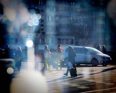 Reflected Street (Bephep2010) Tags: 2682118 70200mm 77 alpha fenster picz reflektion schweiz sony strasse switzerland zurich zürich meetup reflection street window ch