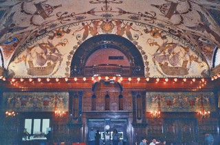 St Augustine  Florida - Ponce de Leon Hotel - Flagler College -  Dining Room