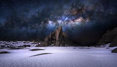 Moonlit Sky (Tim Poulton) Tags: astro milkyway stars night fujifilm gfx50s snow snowymountains mtkosciusko australia winter landscape panoramic timothypoulton