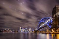 Vivid Sydney Preparation (S♡C) Tags: sydney vividsydney vividsydney2018 sydneyharbourbridge sydneyharbour illumination lightup
