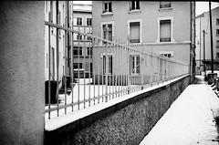 (yoannpupat) Tags: snow urbanlandscape newtopographics streetphotography streetphoto konicaautos3 fomapan400 rangefinder bw noiretblanc ishootfilm filmisnotdead 35mm
