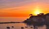 sestri sunset (poludziber1) Tags: liguria sunset sestri levante italia italy colorful