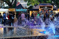 20180420-21-Franko Street Eats market at night (Roger T Wong) Tags: 2018 australia franklinsquare frankostreeteats hobart rogertwong sel85f18z sony85mmf18 sonya7ii sonyalpha7ii sonyfe85mmf18 sonyilce7m2 tasmania food market night people stalls