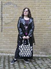 wearing black (Elegance Revisited) Tags: black graphictee pinstripes 40blogger marimekko smartcasual