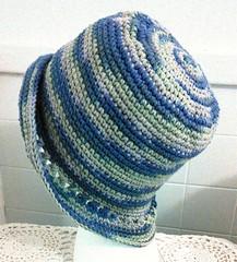 Crochet See-Through Brim Hat. (Jack4Phil) Tags: