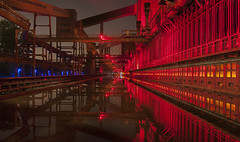 Industrial landscape by nigth