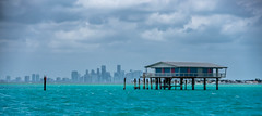 prohibition houses in Biscayne Bay (Lucky Snap) Tags: miami biscaynebay boats water sun fun tropical