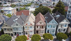 Painted Ladies (samayoukodomo) Tags: drone dronephotography aerialview aerialphotography quadcopter takingthedroneouttogethigh djimavicpro mavicpro dronepointofview birdseyeview droneview aerial